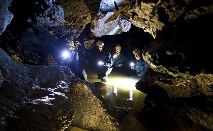 Mountainbike till underjorden
