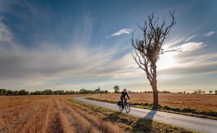 Cykla på norra Gotland